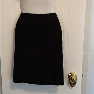 Tristan & Iseut Black Skirt